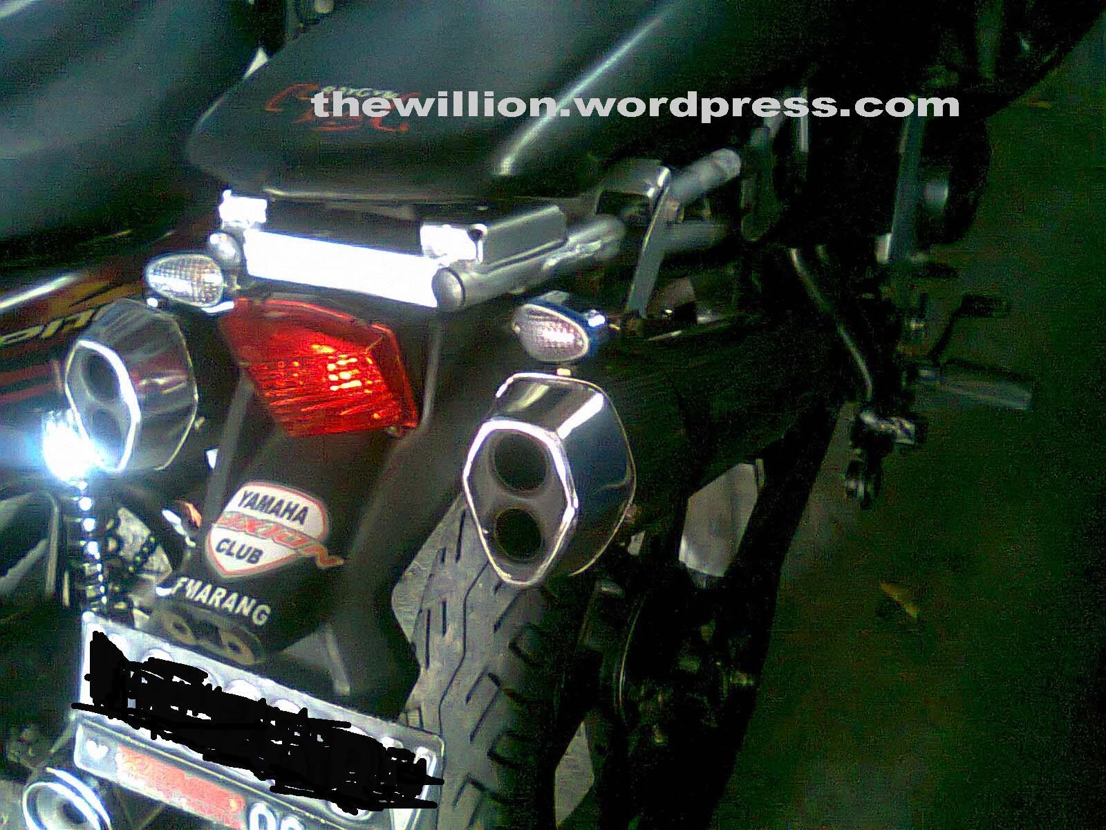Vixion Pake Spakbor KLX150 Mantap Juga DemangCornersCom