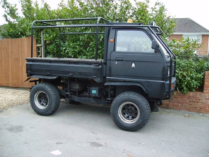 Di Inggris Mobil Carry Pun Di Modif Offroad