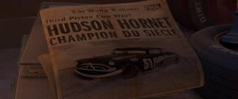 fabulous hudson hornet newspaper on film